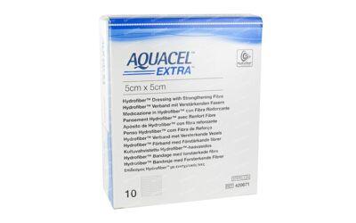 Aquacel extra hydrofiber verband 5x5cm per 10st