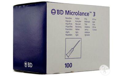 BD Microlance injectienaalden per 100st