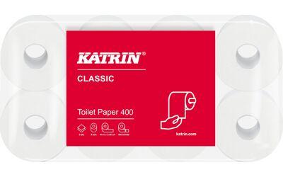 Katrin Classic Toilet 400 vel op een rol per 48st.