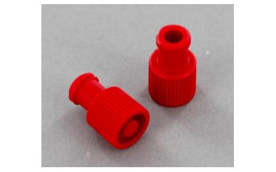 Codan combi lock PolyPropyleen 240st. in een verpakking kleur rood