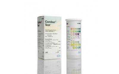 Combur 7 urineteststrips per 100st.