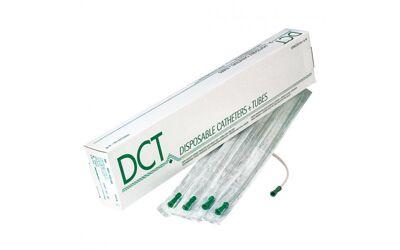 DCT eenmalige katheter nelaton ongecoat 40cm diverse maten per 50st