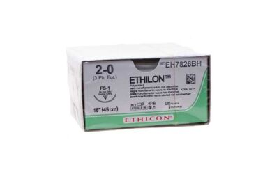 Ethilon hechtdraad 2-0 45 cm & FS-1 naald per 36st.