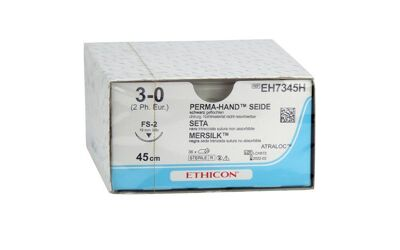 Ethicon Perma zijde 3-0 FS2 45cm EH7345H 36 stuks