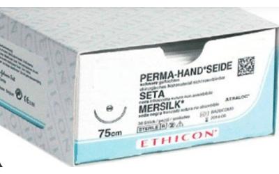 Ethicon Perma zijde 5-0 FS2 45cm 682H 36st