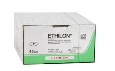 Ethilon hechtdraad 3-0 met FS-1 naald 75cm lang 669H per 36st.