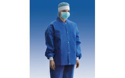 Foliodress warm-up jacket omloopjas maat L per 10st.