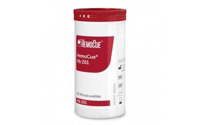 Hemocue HB201 cuvetten in een potje van 50st.