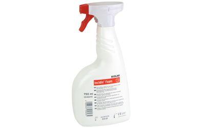 Incidin foam 750ml desinfectiespray voor kleine oppervlakken
