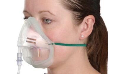 Intersurgical Ecolite softseal zuurstofmasker met slang 2.1m per stuk