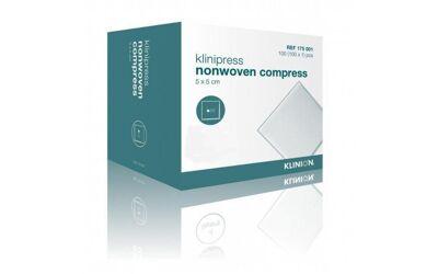 Klinion HG gaaskompres 5x5cm steriel per 50x2st.