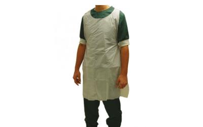 Schorten Klinion Protection PE wit 125cm, 100st
