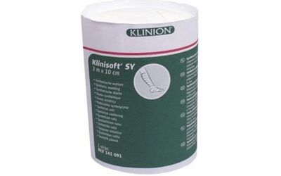 Klinisoft synthetische wattenrol 3mx10cm per stuk