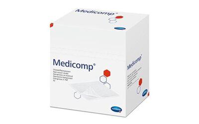 Medicomp nonwoven steriele gazen 10x10cm per 25x2st verpakt