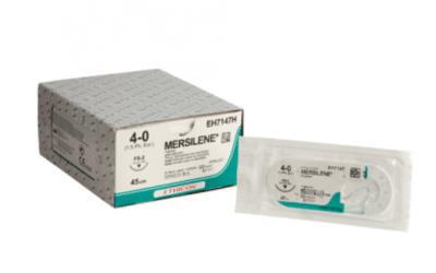 Mersilene hechtdraad EH7147H 4-0 45cm draad FS-2  naald per 36st