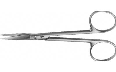 Aesculap Schaar chirurgisch recht 12cm scherp/scherp fijn