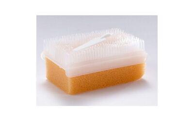Ok borstel - scrub brush met nagelreiniger per 25st.