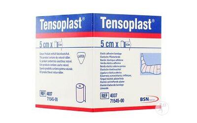 BSN Tensoplast kleefzwachtels 2,5cm x 4,5m per stuk