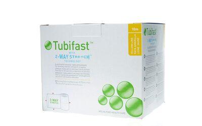 Tubifast buisverband 10m x 10,75cm geel per stuk