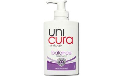Unicura balance handzeep antibacterieel met pompje 250ml