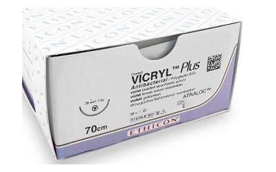 Vicryl 4.0 P-3 45cm 13mm 36 st V491H