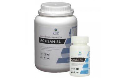 ACTISAN Oppervlakte desinfectie 5L Chloortabletten per 40st.
