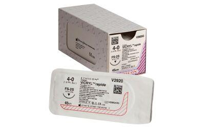 Vicryl rapide 4-0 FS2 naald V2920G per 12st.