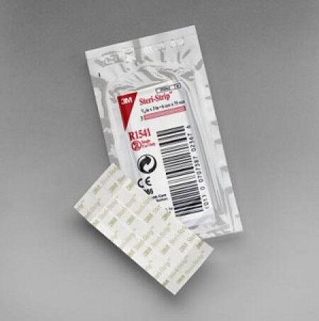3M Steri-strip Hechtstrips  6 x 102 mm 10 strips per 50 enveloppen.