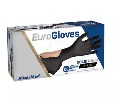 Altairmed nitrile zwarte handschoenen-Large