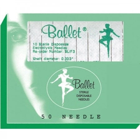 Ballet naalden RVS K2 per 50st.