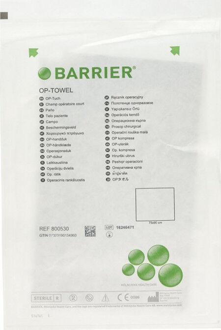 Barrier afdekdoeken niet zelfklevend 75x90cm 2lgs per 38st.