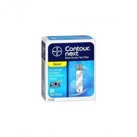 Bayer contour next glucosemeter teststrips