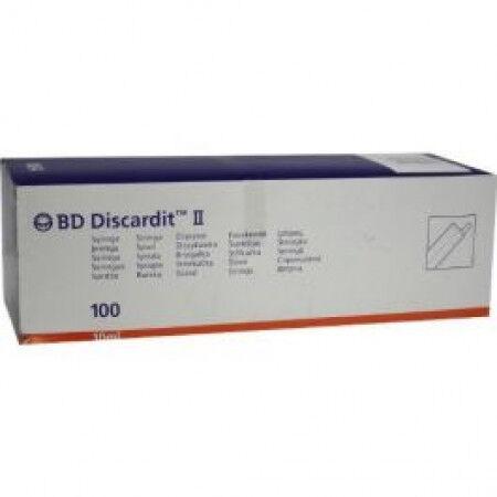 BD Discardit 10ml 2 delige spuit per 100st.