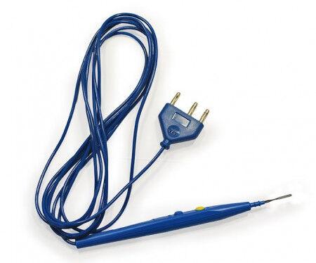 Blayco diathermiepen met blade elektrode per 50st.