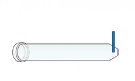 Boorhoes met ring en plakstrip per 100st.
