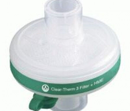 Beademingsfilter Intersurgical Clear-Therm HMEF 3 met luer lock 10st.