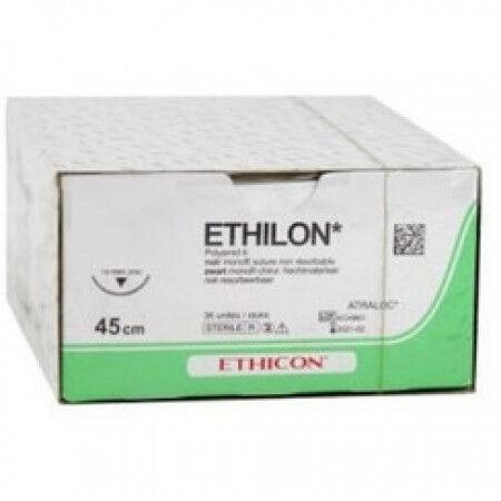 Ethilon W1611T 5-0 hechtdraad met P1 Prime hechtnaald per 36st.