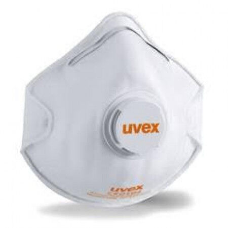 Uvex FFP2 Mondmasker met ventiel per 15st.