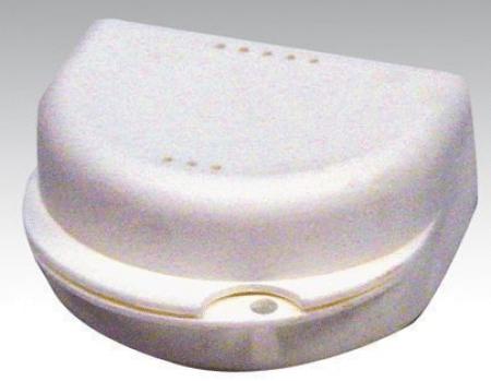 Prothesebakjes / ortho box wit per 10 st