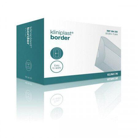 Kliniplast border steriele eilandpleister per 50st. 5x7cm