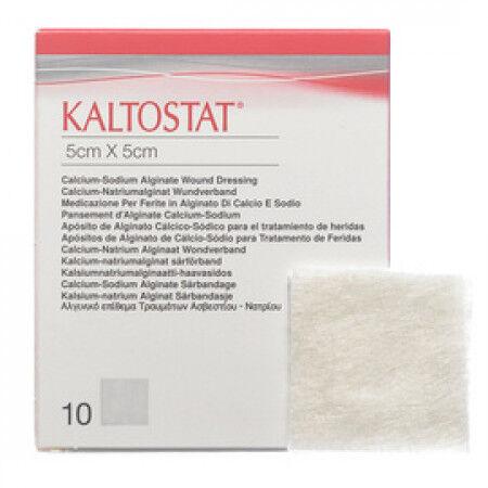 Kaltostat alginaat wondverband 5x5cm per 10st.