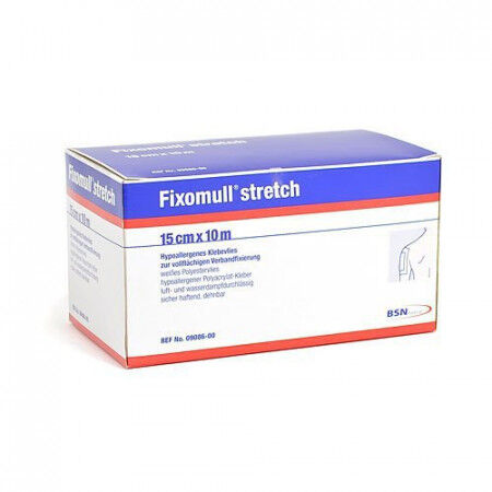 Fixomull rol stretch fixatiefolie 10mx5cm
