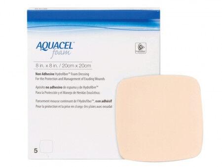 Aquacel Foam schuimverband zonder plakrand 10x10cm per 10st.