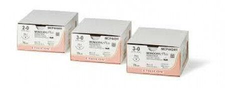 Monocryl hechtdraad 3-0 FS2 naald Y293H 45cm draad per 36st.