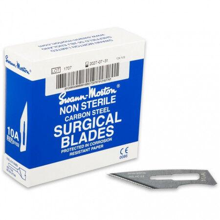 Swann-morton niet steriele scalpelmesjes