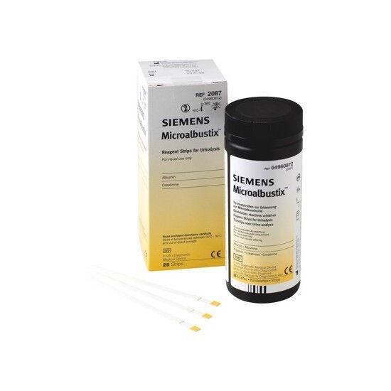 Siemens Microalbustix urinestrips per 25st.