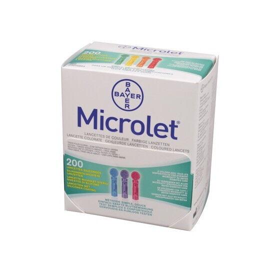 Microlet lancetten per 200st.