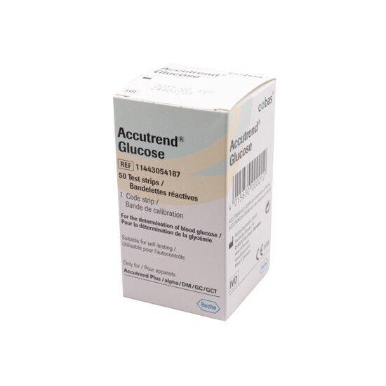 Accutrend Glucosestrips per 25st.