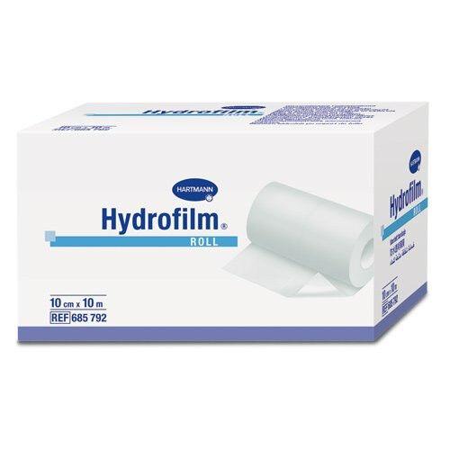 Hydrofilm transparant folieverband op rol 10m x 10cm