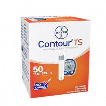 Bayer Contour TS teststrips glucose per 50st.